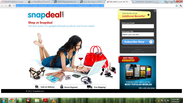 4e36f0737 Snapdeal Coupons- to Avail the Best Offers on any Product - Peace Tech