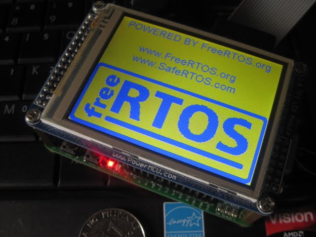 FreeRTOS LCD message