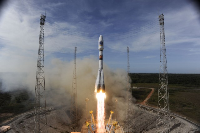 ESA Launches Galileo GPS Satellites
