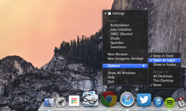 chrome-mac-dock-options