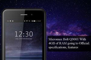 Micromax Bolt Q3001
